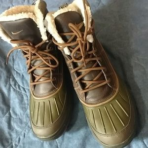 Mike ACG boots.